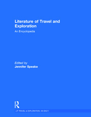 Literature of Travel and Exploration - 1st Edition book cover