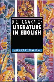 Dictionary of Literature in English - 1st Edition book cover