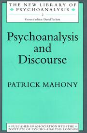 Psychoanalysis and Discourse - 1st Edition book cover