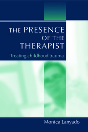 The Presence of the Therapist - 1st Edition book cover