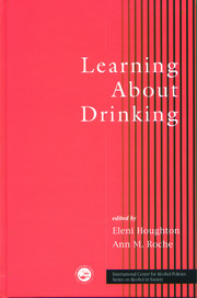 Learning About Drinking - 1st Edition book cover