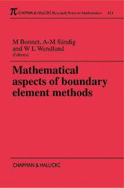 Mathematical Aspects of Boundary Element Methods
