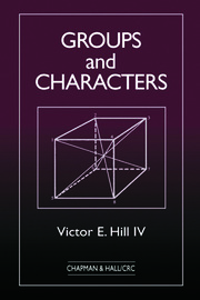 Groups and Characters