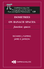 Isometries on Banach Spaces: function spaces