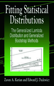 Fitting Statistical Distributions: The Generalized Lambda Distribution and Generalized Bootstrap Methods