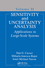 Sensitivity and Uncertainty Analysis, Volume II: Applications to Large-Scale Systems
