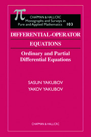 Differential-Operator Equations: Ordinary and Partial Differential Equations
