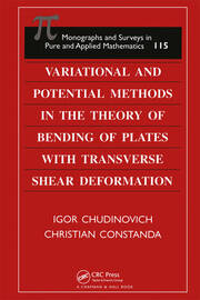 Variational and Potential Methods in the Theory of Bending of Plates with Transverse Shear Deformation