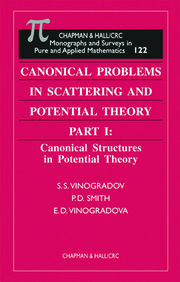 Canonical Problems in Scattering and Potential Theory Part 1: Canonical Structures in Potential Theory