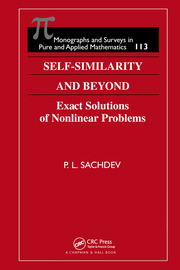 Self-Similarity and Beyond: Exact Solutions of Nonlinear Problems