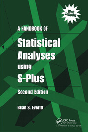 A Handbook of Statistical Analyses Using S-PLUS
