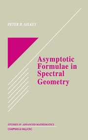 Asymptotic Formulae in Spectral Geometry - 1st Edition book cover