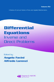 Differential Equations: Inverse and Direct Problems