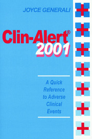 Clin-Alert 2001 - 1st Edition book cover