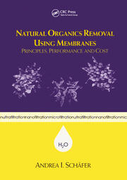 Natural Organics Removal Using Membranes - 1st Edition book cover