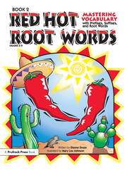 Red Hot Root Words - 1st Edition book cover