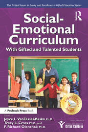 Social-Emotional Curriculum With Gifted and Talented Students - 1st Edition book cover