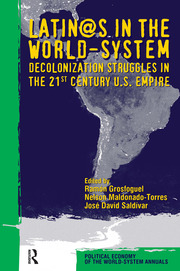 Latino/as in the World-system - 1st Edition book cover