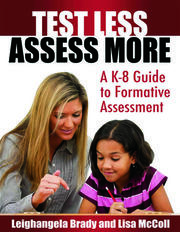Test Less Assess More - 1st Edition book cover