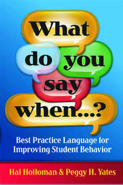 What Do You Say When…? - 1st Edition book cover