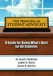Principal as Student Advocate, The - 1st Edition book cover