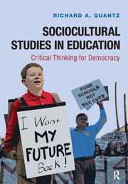 Sociocultural Studies in Education - 1st Edition book cover