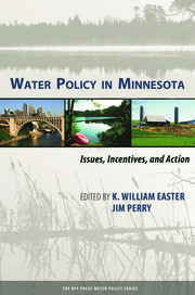 Water Policy in Minnesota - 1st Edition book cover