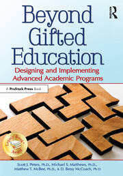 Beyond Gifted Education - 1st Edition book cover