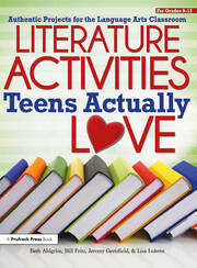 Literature Activities Teens Actually Love - 1st Edition book cover