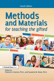 Methods and Materials for Teaching the Gifted - 4th Edition book cover