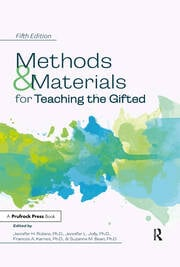 Methods and Materials for Teaching the Gifted - 5th Edition book cover