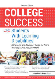College Success for Students With Learning Disabilities - 2nd Edition book cover