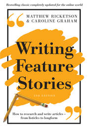 Writing Feature Stories - 2nd Edition book cover