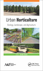 Urban Horticulture - 1st Edition book cover