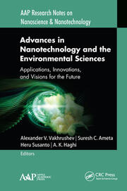 Advances in Nanotechnology and the Environmental Sciences - 1st Edition book cover