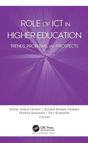 Role of ICT in Higher Education - 1st Edition book cover