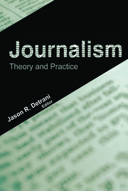 Journalism - 1st Edition book cover