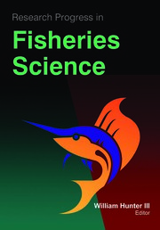 Research Progress in Fisheries Science - 1st Edition book cover