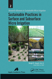 Sustainable Practices in Surface and Subsurface Micro Irrigation - 1st Edition book cover