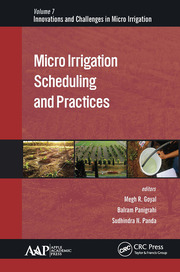 Micro Irrigation Scheduling and Practices - 1st Edition book cover