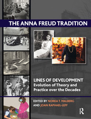 The Anna Freud Tradition : Lines of Development - Evolution of Theory and Practice over the Decades - 1st Edition book cover