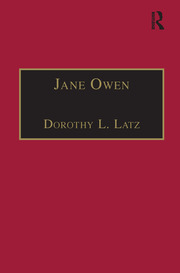Jane Owen - 1st Edition book cover