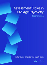 Assessment Scales in Old Age Psychiatry