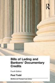 Bills of Lading and Bankers' Documentary Credits - 4th Edition book cover
