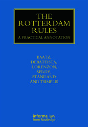 The Rotterdam Rules - 1st Edition book cover