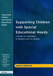 Supporting Children with Special Educational Needs - 1st Edition book cover