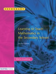 Learning to Teach Mathematics, Second Edition - 1st Edition book cover
