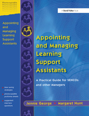 Appointing and Managing Learning Support Assistants - 1st Edition book cover