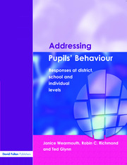 Addressing Pupil's Behaviour - 1st Edition book cover