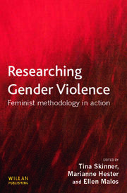 Researching Gender Violence - 1st Edition book cover